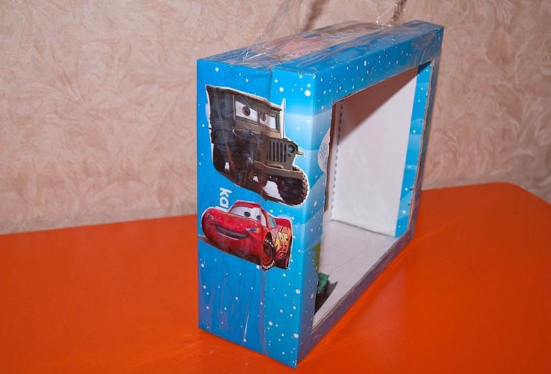 Коробка от игрушек – тоже пригодится