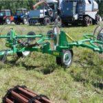 Как сделать грабли ворошилки для мини-трактора самостоятельно?