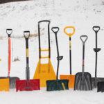 Основные виды лопат для уборки снега