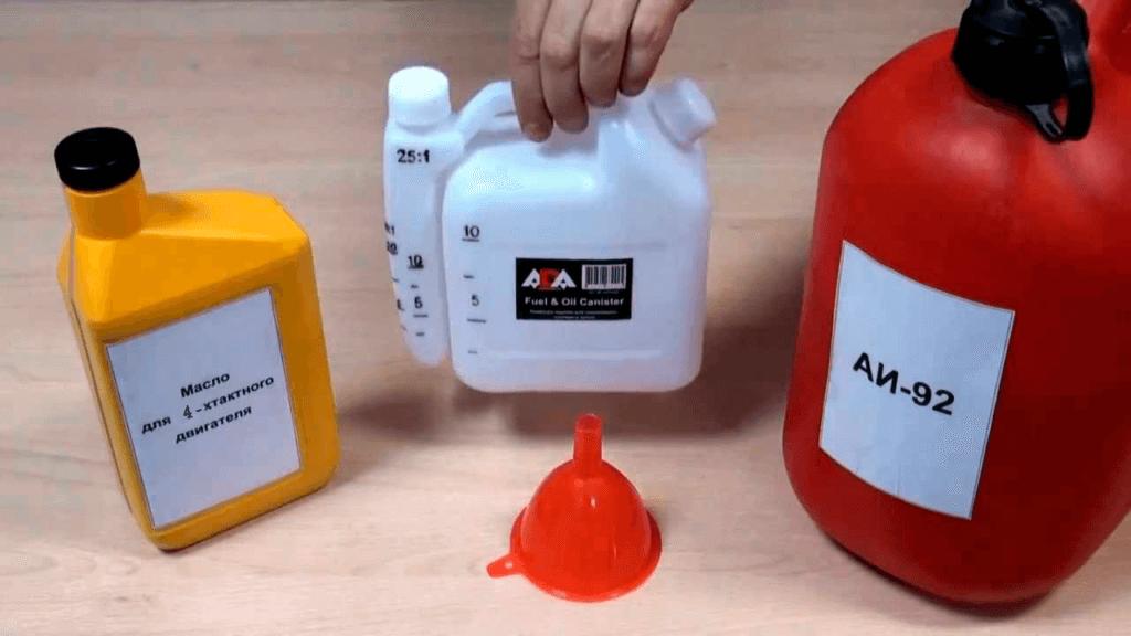 как смешать масло для бензопилы видео популярных