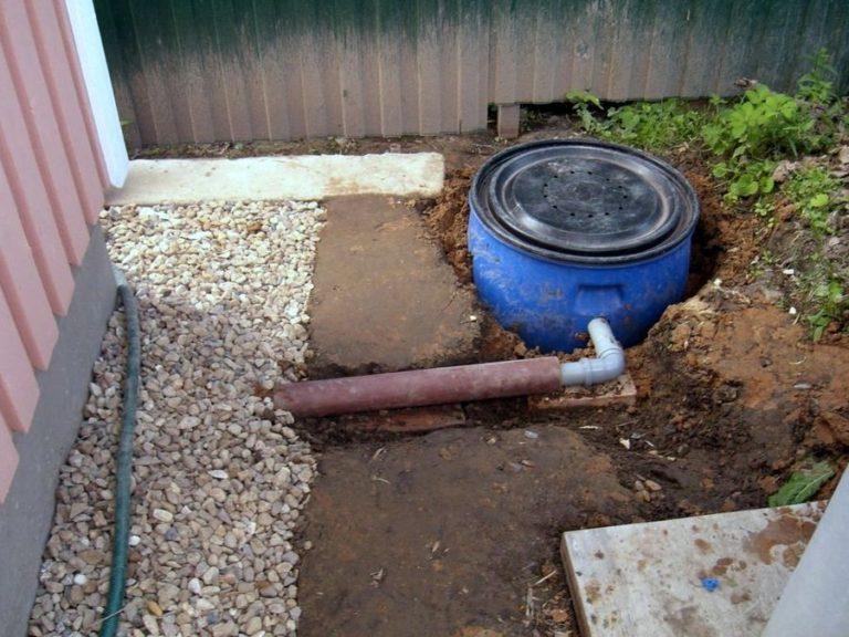 Как сделать летнюю канализацию на даче своими руками
