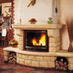 Атмосфера уюта и гостеприимства в вашем доме: фото идеи с каминами в интерьере