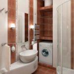 Проекты и планировка ванной комнаты 4 кв